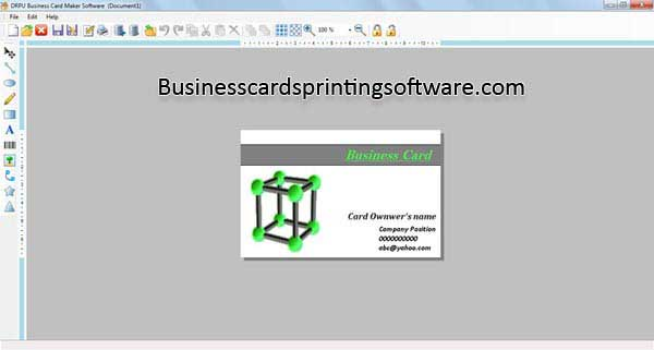 Business Cards Printing Software 7.3.0.1 full